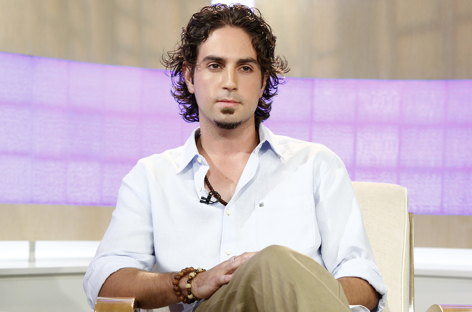 "TODAY -- Pictured: Wade Robson appears on NBC News' ""Today"" show -- (Photo by: Peter Kramer/NBC/NBC NewsWire via Getty Images)"
